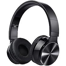 Vtin Waver Auriculares Bluetooth de diadema plegables, Bluetooth Inalámbricos y Micrófono, Mas de 8 horas de reproducción (Con cable aux de