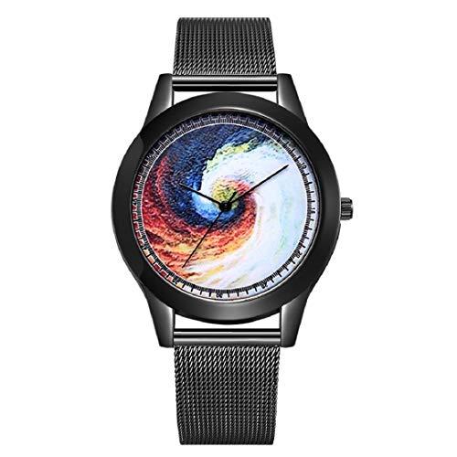 Universum schwarzes Loch net gürtel Uhr Damen quarzuhr Outdoor Freizeitkleidung wild Armband Geschenk ()