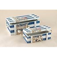 Baygifts Set of 2 Seaside Boxes