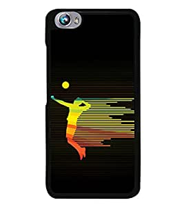 Player 2D Hard Polycarbonate Designer Back Case Cover for Micromax Canvas Fire 4 A107