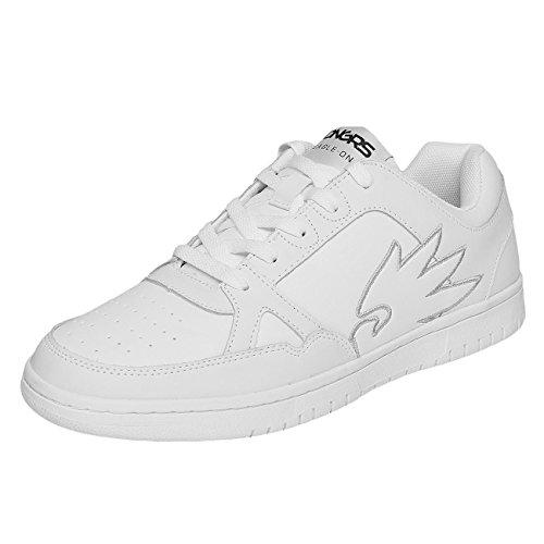 Dangerous DNGRS Uomo Scarpe / Sneaker Logo Bianco