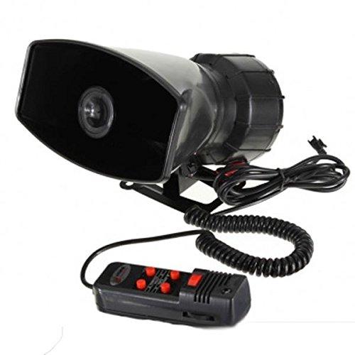 12V laute Hupe Sirene 5 Klingt Tone Beschallungsanlage 60W Max 300dB