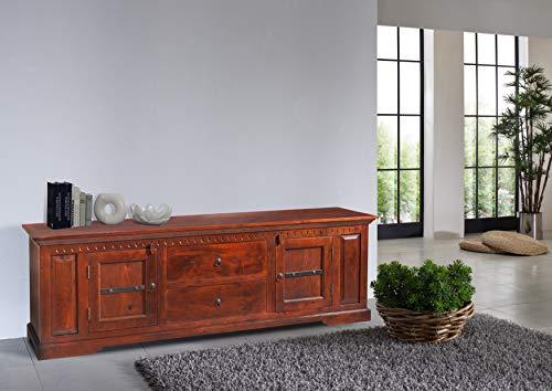 MASSIVMOEBEL24.DE Kolonial Longboard Akazie Möbel massiv Oxford #508