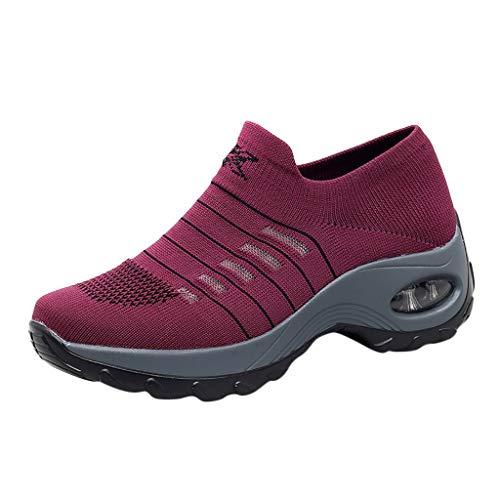 Tasche & Schuhzubehör - Damenschuhe, Damenmode Wohnungen Atmungsaktive Sportschuhe Leichte Laufschuhe ()