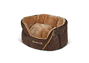 Ranger Dog Bed Cat Bed Pet Bed Brown 46x36x20cms by Scruffs