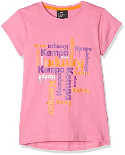 Kempa Mädchen Paint T-Shirt, rosa, 128