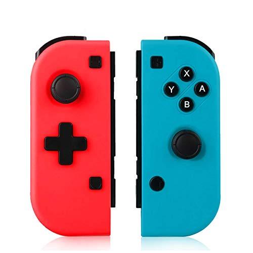 TUTUO Manette pour Nintendo Switch, Switch Pro sans Fil Contrôleur Bluetooth Gamepad Joystick,...