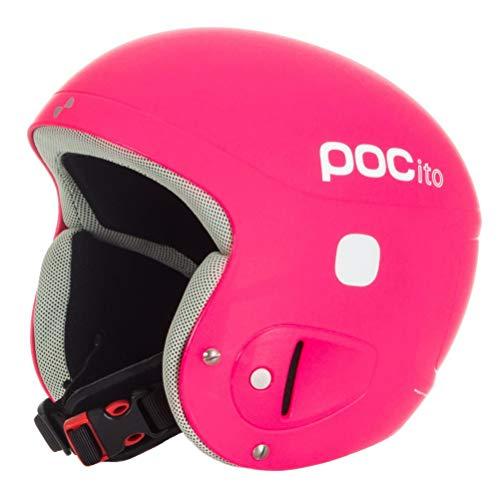 POC Skihelm POCito Helmet, Fluorescent pink, XS-S (51-54 cm), (Größe einstellbar) Ski-moc