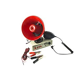 Trade Shop - Megaphone Speaker Microphone Car 12 V: Amazon co uk