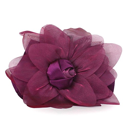 Signore Di Personalità Di Modo Roses Banchetto Del Telefono Mobile Cosmetic Handbag Purple