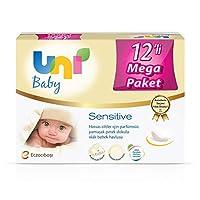 Uni Baby Sensitive Islak Mendil, 12'li
