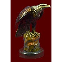 Statua di bronzo Scultura...Spedizione Gratuita...Bald Eagle Grande,