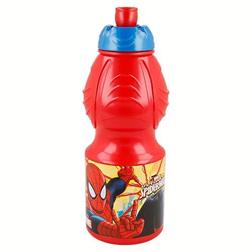Botella Sport 400 ML   Spiderman Red Webs