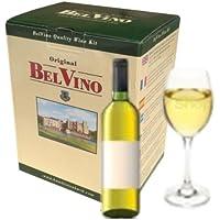 BelVino 7 Day Wine Making Kit Chardonnay Homebrew White Wine 23L Fruit Included by BelVino