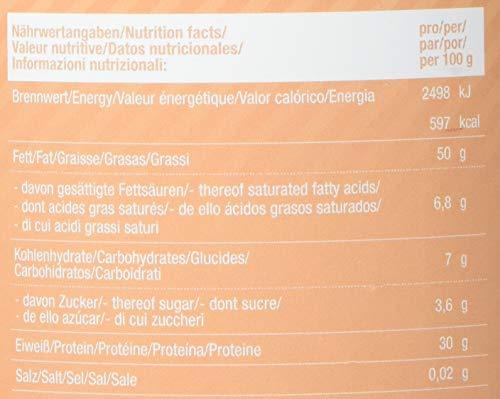 Body Attack Protein Erdnussbutter, Peanut Butter ohne Zucker ohne Zusätze, Erdnussmus ohne Salz, Öl oder Palmfett, natürliche Nussbutter 1000g Smooth