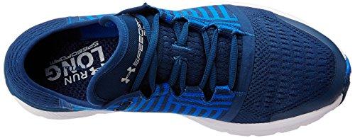 Speedform Gemini 3 - Chaussures de Course - Noir/Acier Blackout Navy/Ultra Blue