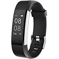 YAMAY Fitness Tracker Smartwatch Android iOS Orologio Cardiofrequenzimetro da Polso Uomo Donna Bambini Impermeabile IP67 Sport Contapassi Calorie Nuoto Corsa per iPhone Samsung Xiaomi Huawei Phone