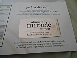 Philosophy Ultimate Miracle Worker Multi-Rejuvenating Cream SPF 30 - Sample