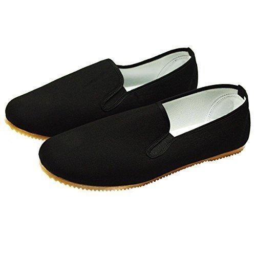 Kung Fu Schuhe mit heller Gummisohle Größe 43