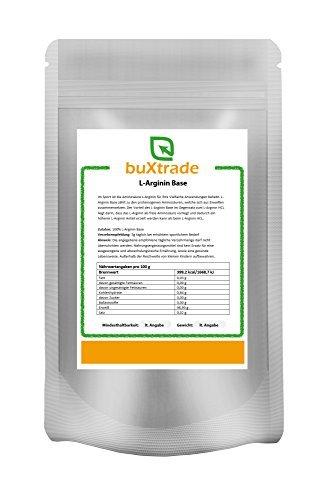 500 g L-Arginin Base Pulver L Arginin Aminosäure Fitness