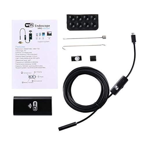 Elviray Für Android USB Endoskop Kamera WiFi Drahtlose Endoskop Schlange Inspektion Endoskop Video Röhre Mini USB WI-FI Kamera 2 Mt Kabel Inspektion Video
