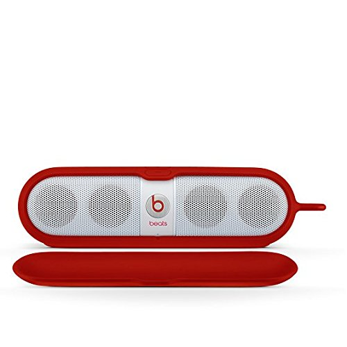 Beats Pill Sleeve - Funda para altavoz, color rojo
