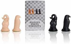 Eléphant & Faucon (Elephant & Hawk), Musketeer Chess Kit, 4 Pièces d'echecs,