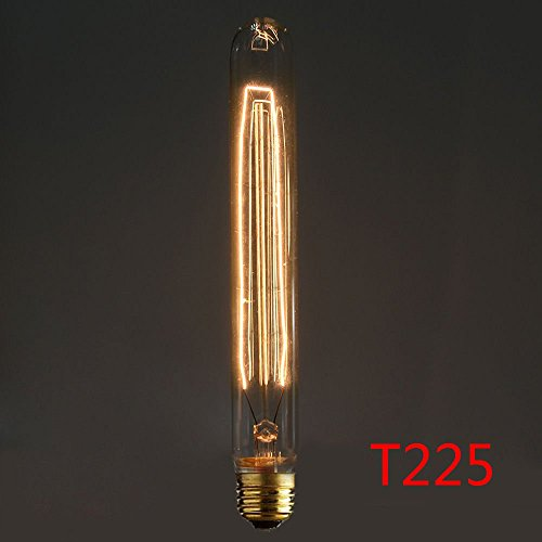 Neverland E27 40W 50V-220V T225 Edison Lampe Filament Glühlampe Retro Licht Vintage Glühbirne Antik Beleuchtung Warmweiß