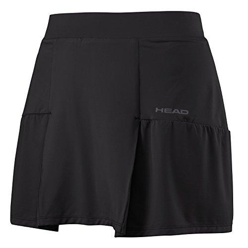 Head Damen-Skort, lang XL schwarz (Bekleidung Damen Schwarz Tennis)