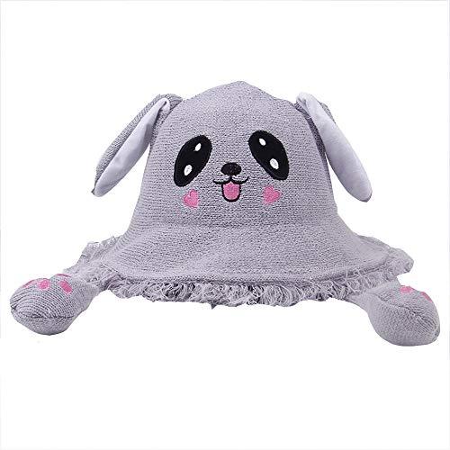 en Hut Student niedlichen Hasenohren Kaninchen Hut Airbag net rot vibrierenden Klang mit der Fischer Hut Mütze ()