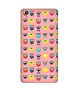 Beard-Colour-31 Lava Pixel V1 Case