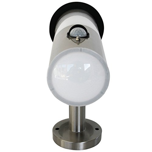 Frostfire Solar Wall Light with PIR Motion Sensor