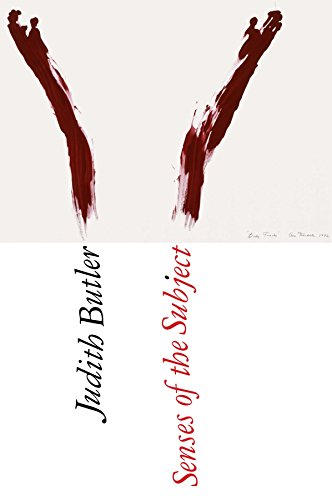 Senses of the Subject par Judith Butler