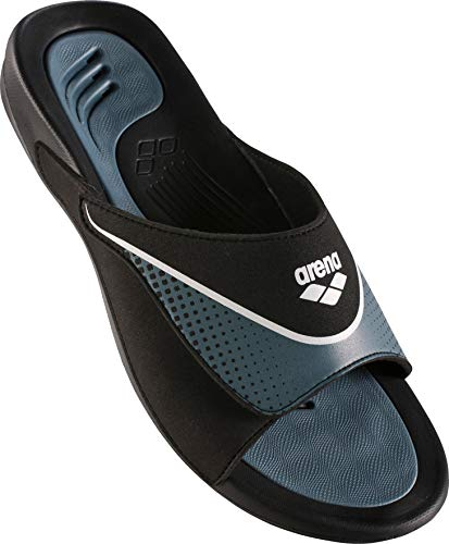 arena Hydrofit VCR Hook Sandals Herren Black-Grey-White Schuhgröße EU 47 2018 Badeschuhe