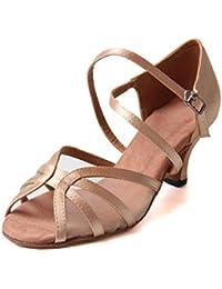 46191e9a9f7b Jywmsc Women Ballroom Dance Shoes Ladies Latin Salsa Tango Dancing Shoes