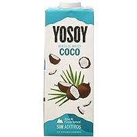 YOSOY Bebida de Arroz con Coco 1L [caja de 6 x 1L]