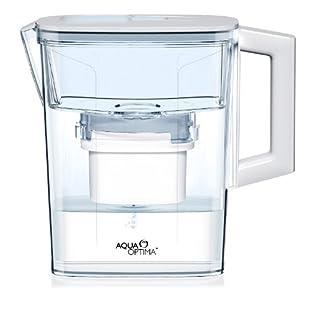 Aqua Optima White Compact filter Jug  (inc 1x30day Evolve Filters) EJ0331