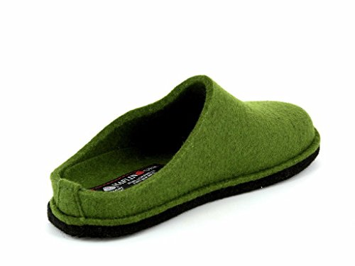 Haflinger - Soft, Pantofole A Casa, unisex verde erba
