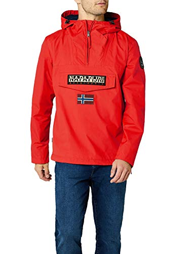 Napapijri Rainforest M Sum 1 Herren Jacke, Rot (Bright Red R89), Gr. XXX-Large - Jacke Rot Ski Herren