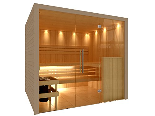 C-Quel Royal Sauna Glasfront 2266mm x 1955mm x 2040mm