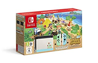 "Nintendo Switch – Limited Edition + ""Animal Crossing: New Horizons"""
