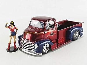 Jada Toys Coche de ferrocarril de Collection, 30453bl, Azul/Rojo