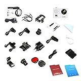 Kongqiabona H9 Tragbarer Mini-Ultra-Full-HD-4K wasserdicht 30M Sport Kamera Wi-Fi Action Camcorder 2 Zoll LCD-Anzeige