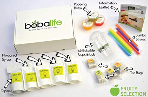 Bubble Tea Kit - 12 Drinks (Fruity Selection)