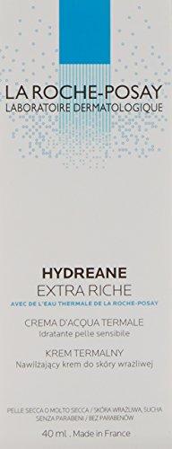La Roche-Posay Hydreane, Crema Hidratante Extra Rica, 40ml