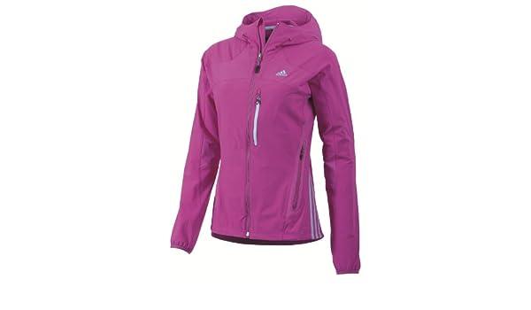 e735c213c387e adidas Z09885-L Women s W Ts Light Hoodie Soft Shell Vivid Pink L   Amazon.co.uk  Clothing
