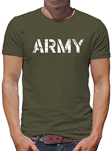 Touchlines US Army Sportbeutel – bedruckter Turnbeutel mit Kordeln