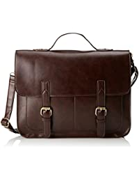Ecosusi Large Synthetic Leather Messenger Bag Briefcase