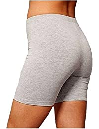 Crazy Girls Cotton 1/2 Length Over-Knee Cycling Shorts Active Sport Casual Pants Size S-4XL