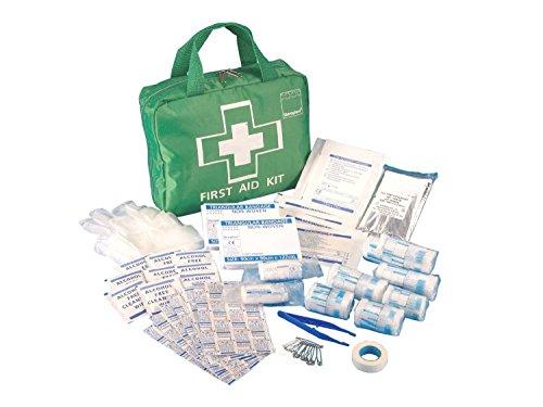 Steroplast Premium Erste-Hilfe-Tasche, Verbandkasten mit 70 Teilen